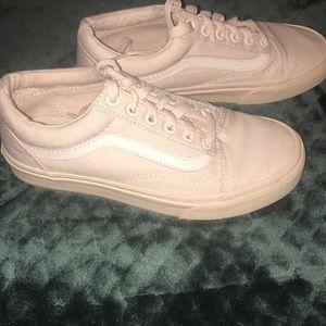 SOLLLDDDDD..  Pale Pink Old skool Vans 💓